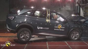 Euro NCAP Crash Test of Hyundai NEXO